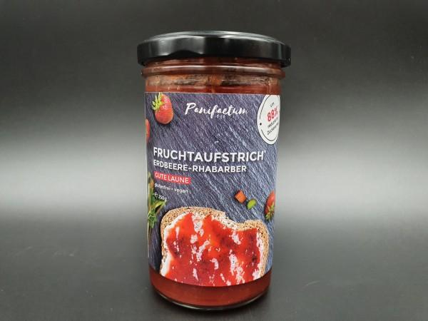 Fruchtaufstrich Rhabarber-Erdbeere