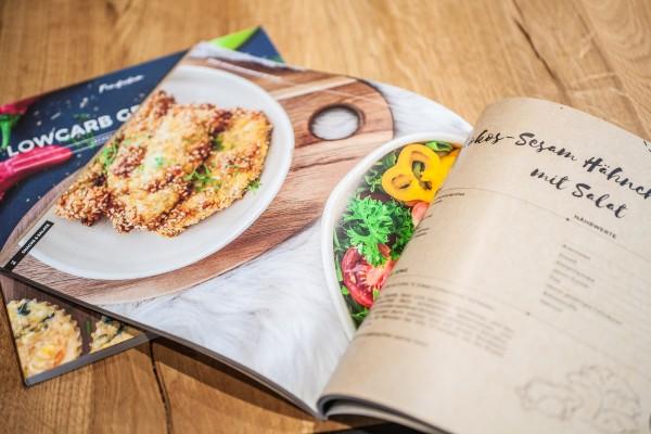 Kochbuch LOWCARB GESCHICHTEN - Leckere Rezepte für jeden Tag