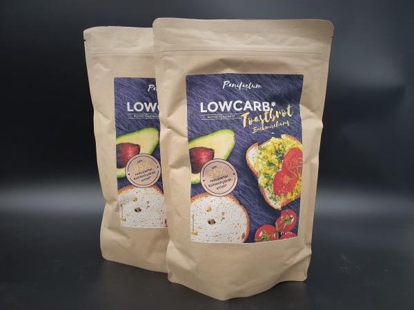 2er Set LowCarb* Brotbackmischung - Butter-Toastbrot