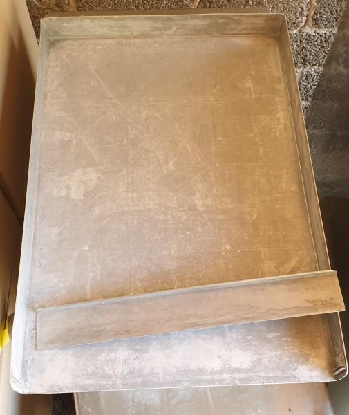 Schnittenblech aus Alu 60x40 cm