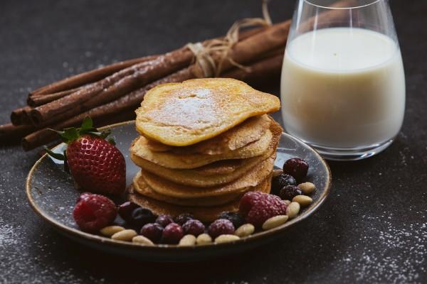 LowCarb Backmischung für Mandel Zimt Pancake