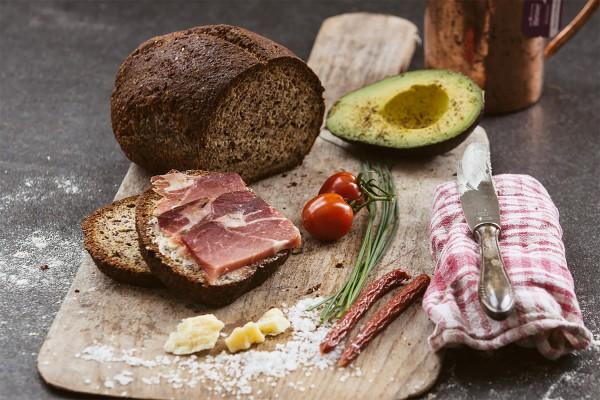 LowCarb Backmischung für Brot Kraftpaket