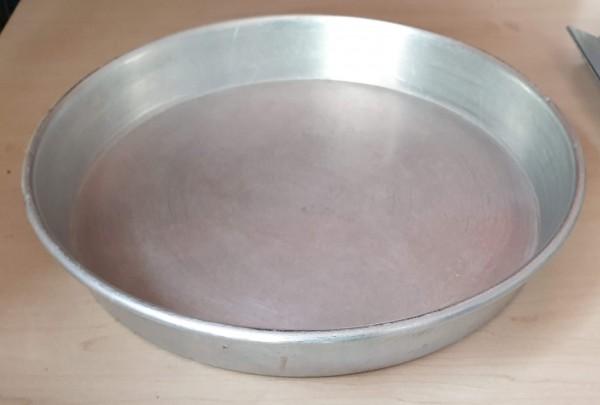 Kuchenblech aus Alu, rund gebraucht