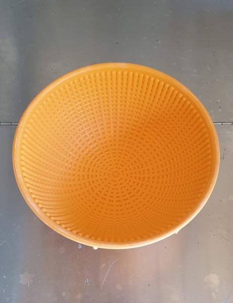 Gärkörbchen aus Kunststoff, rund, gebraucht