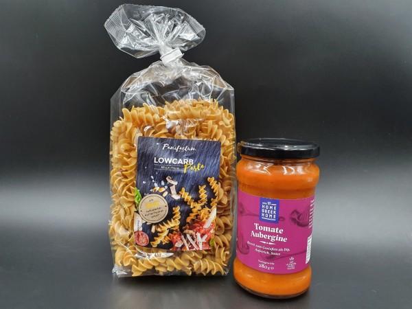 """Schlemmer-Paket """"GREEK PASTA"""" - Tomate Aubergine"""