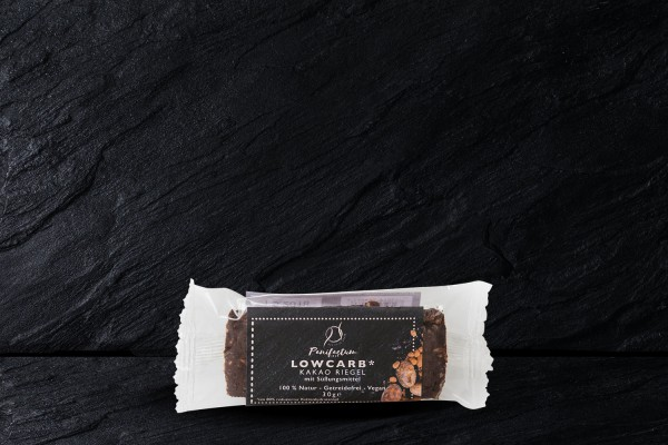 LowCarb Riegel Kakao