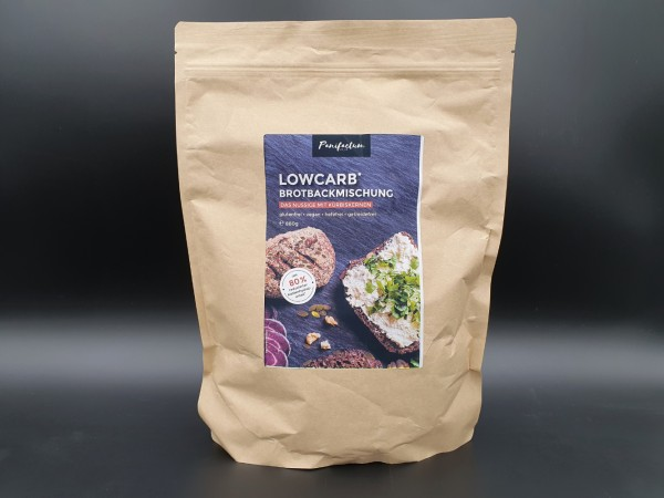 LowCarb* Brotbackmischung - Das Nussige mit Kürbiskernen 880g