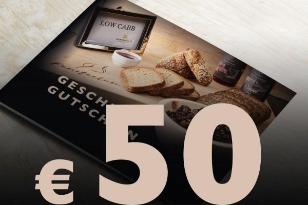 Geschenkgutschein Wert € 50,-